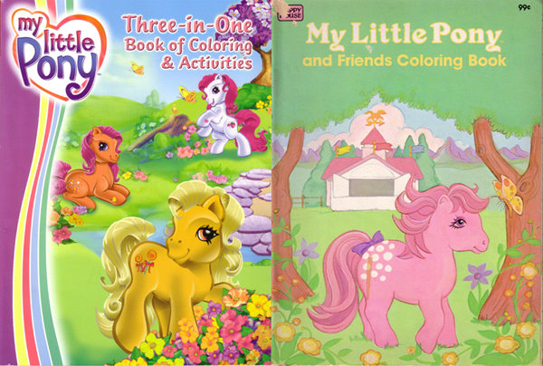 my little pony coloring book. COLORING BOOKS My Little Pony